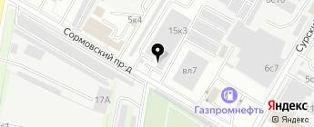 Андиго на карте Москвы
