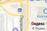 Схема проезда до компании Торговый павильон в Донецке