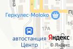 Схема проезда до компании Burger & Cake в Донецке