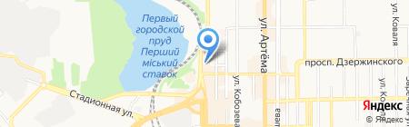 ICredit на карте Донецка