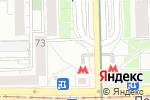 Схема проезда до компании Max press в Москве
