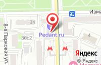 Схема проезда до компании Строительная Компания «Платинум» в Москве