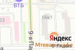 Схема проезда до компании МСК-Авиа в Москве