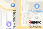 Схема проезда до компании Ассорти в Донецке
