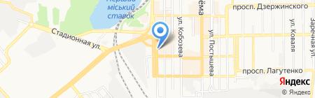 Pink Angel на карте Донецка