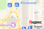 Схема проезда до компании ФОКСиК в Донецке