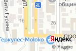 Схема проезда до компании Семейный сундучок в Донецке