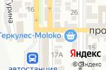 Схема проезда до компании Магазин трикотажных изделий в Донецке