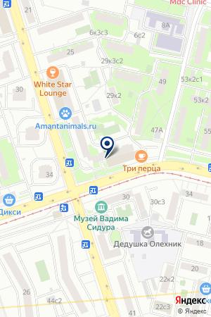 ПРОДОВОЛЬСТВЕННЫЙ МАГАЗИН ГЛОБАЛСТРОЙРЕСУРС на карте Москвы