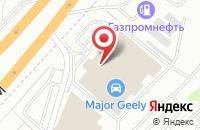Схема проезда до компании Теплополыч в Дзержинском