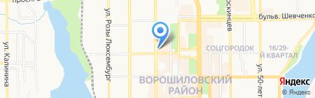 Natali Dler на карте Донецка