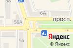 Схема проезда до компании Ватрушка в Донецке
