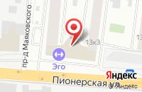 Схема проезда до компании Delphine swim в Королёве