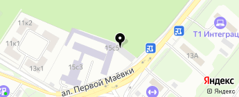 Автоподбор на карте Москвы