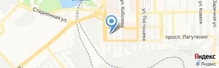 Охрана на карте Донецка
