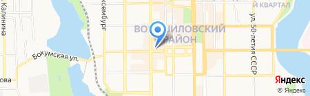 Sonata на карте Донецка