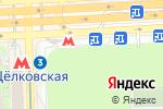 Схема проезда до компании Флора Фарт в Москве