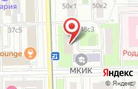 Схема проезда до компании Дэ Каро в Москве