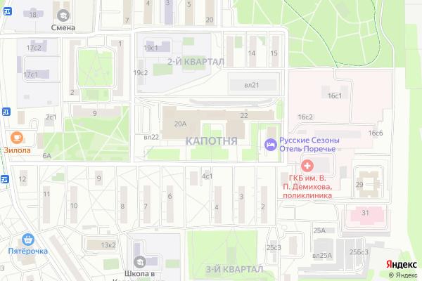 Ремонт телевизоров Район Капотня на яндекс карте