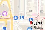 Схема проезда до компании Все для ногтей в Донецке