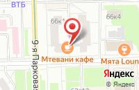 Схема проезда до компании Полиграф-Центр в Москве