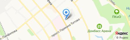Волшебные сны для детей и взрослых на карте Донецка
