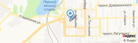 CAL`ORE на карте Донецка