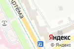 Схема проезда до компании Цитрус в Донецке