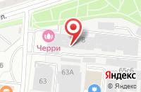 Схема проезда до компании Наша семья в Москве