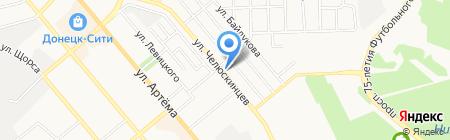 Galaxysoft на карте Донецка