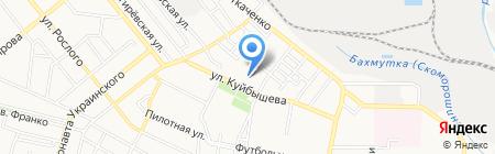 Развитие. Инициатива. Партнерство на карте Донецка