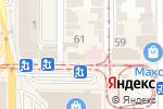Схема проезда до компании Магнолия+ в Донецке