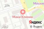 Схема проезда до компании Moto-All в Москве