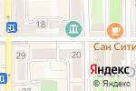 Схема проезда до компании Podium в Донецке