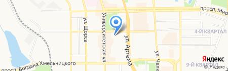 Марципан на карте Донецка