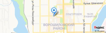 Day Spa на карте Донецка