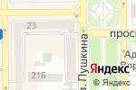 Схема проезда до компании Анэль в Донецке