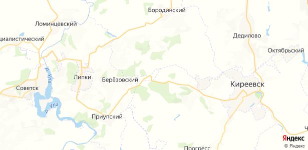 Васильевский на карте