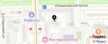 АвтоТехКонтроль на карте Москвы