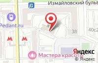 Схема проезда до компании Тайга Паблишинг в Москве