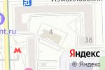 Схема проезда до компании Jeniya Silver в Москве