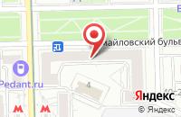 Схема проезда до компании Производственно-Строительная Компания Энергоспецстрой в Москве