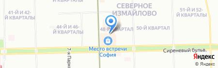 Химическая технология на карте Москвы