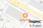 Схема проезда до компании Jelly Fish в Москве