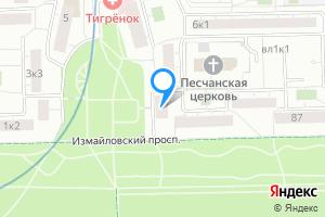 Снять однокомнатную квартиру в Москве 9-я Парковая ул., 2