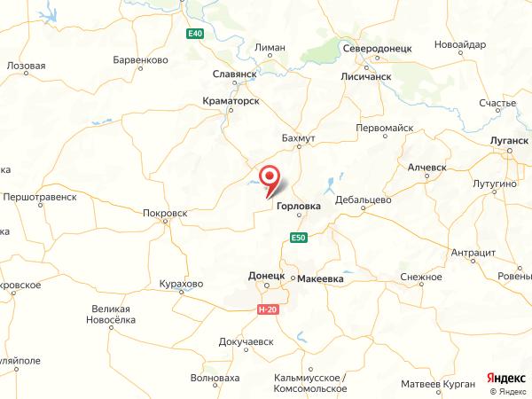 село Леонидовка на карте