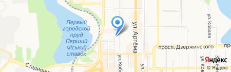 ТРИПОЛИ на карте Донецка