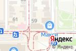 Схема проезда до компании Рассвет в Донецке