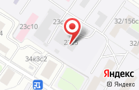 Схема проезда до компании Квант Компания в Москве