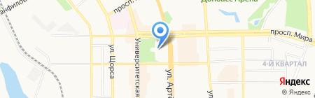 Банкомат Банк UniCredit на карте Донецка